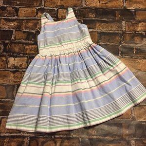 Polo Ralph Lauren Girls Preppy Easter Dress